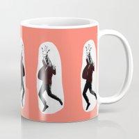 Giraffe In A Suit By Deb… Mug