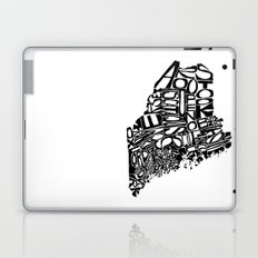 Typographic Maine Laptop & iPad Skin