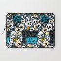 Skullz & Lulz Pattern Laptop Sleeve