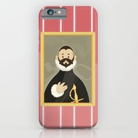 Nobleman with his Hand on his Chest by Greco iPhone 6 Slim Case