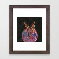 Self-Similar Framed Art Print