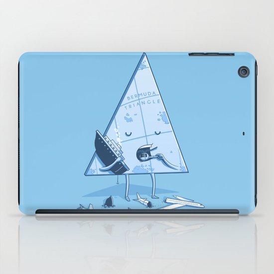 Bermuda triangle iPad Case