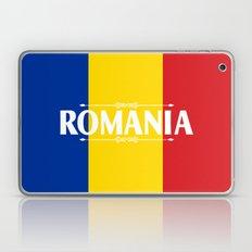 Romania Country Flag Col… Laptop & iPad Skin