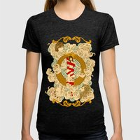 XXI The Universe Womens Fitted Tee Tri-Black SMALL