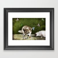 Birthday Rituals Framed Art Print