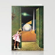 Stationery Cards featuring Prophetic Vision by Eugenia Loli