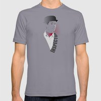Inspector Spacetime Mens Fitted Tee Slate SMALL