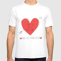 I Love You Like A Love S… Mens Fitted Tee White SMALL