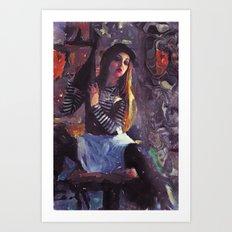 Loft Portrait Art Print
