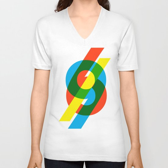 six to nine V-neck T-shirt
