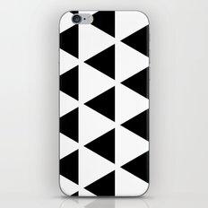 Sleyer Black on White Pattern iPhone & iPod Skin