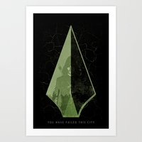 The Arrow Art Print