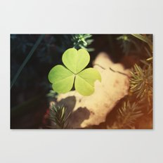 Wishing For Luck Canvas Print