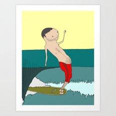 Ho' Brah! Art Print