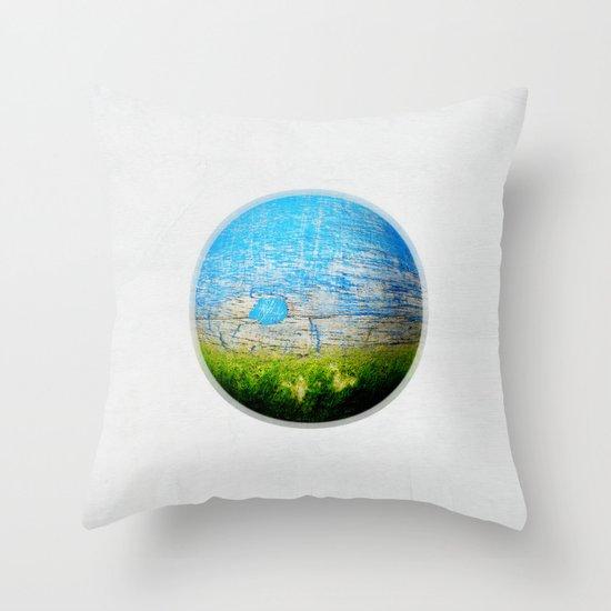 Mother Nature Throw Pillow