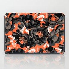 Mount Cook Lily - Orange/Black iPad Case