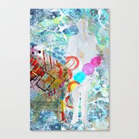 Calling Cards Canvas Print
