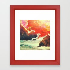 Endless Sunrise Framed Art Print