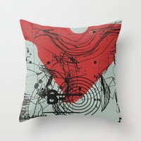 tell your ma tell your pa  Throw Pillow