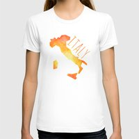 italy T-shirts featuring Italy by Stephanie Wittenburg