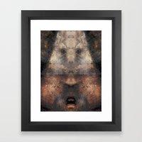 SOUTHERN MAN Framed Art Print