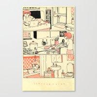 Introversion Canvas Print