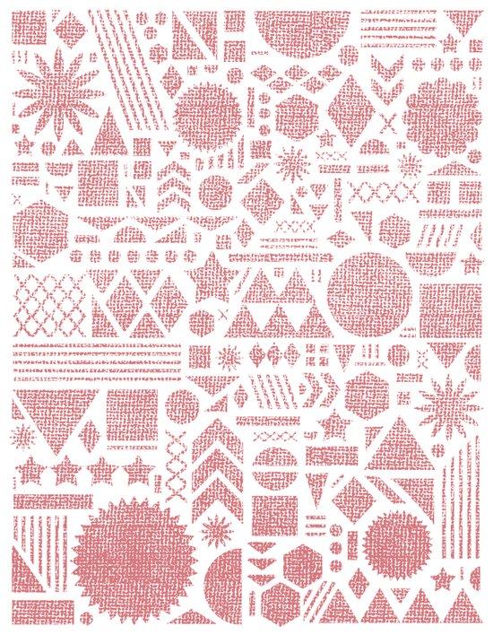 Modern Elements with Bubble Gum. Art Print
