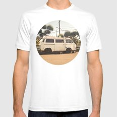 Vanlife  SMALL White Mens Fitted Tee
