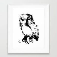 Owl Framed Art Print