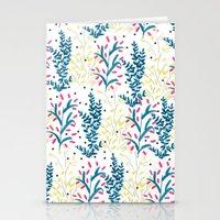 Bright Flowers. Illustra… Stationery Cards