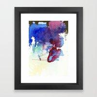 110 5  Framed Art Print