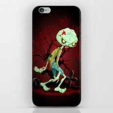 Zombie Creepy Monster Cartoon iPhone & iPod Skin