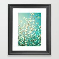The Dogwoods Are Bloomin… Framed Art Print