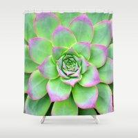 The Longest Bloom Shower Curtain