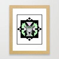 ::Space Deer:: Framed Art Print