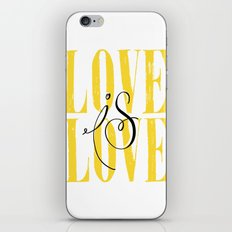 Love is Love iPhone & iPod Skin