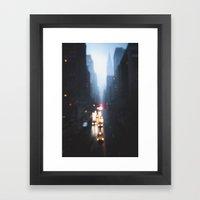 The Narrows Framed Art Print