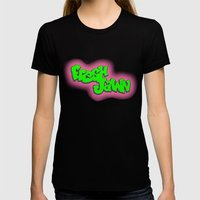 Fresh Jawn Womens Fitted Tee Black SMALL