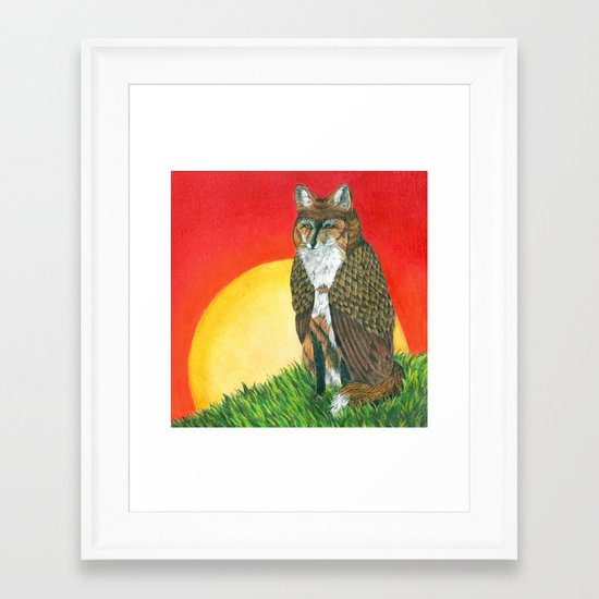 Shape Shifter Framed Art Print