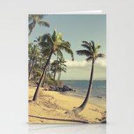Maui Lu Beach Kihei Maui… Stationery Cards