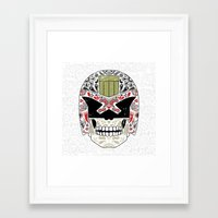 Day Of The Dredd - Varia… Framed Art Print