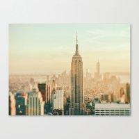 New York City Skyline Dreams Canvas Print