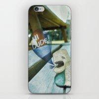 New Friend iPhone & iPod Skin