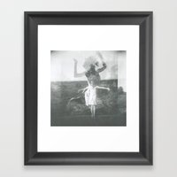 Finally Free Framed Art Print