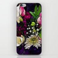 :: Bring Flowers :: iPhone & iPod Skin