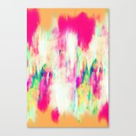 Electric Haze Canvas Print