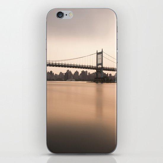 Triborough Bridge (NYC) at Sunset iPhone & iPod Skin