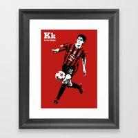 K Is For Kaka Framed Art Print