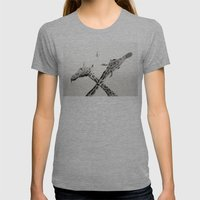 MiG 22 Flogger-B  Womens Fitted Tee Athletic Grey SMALL