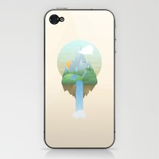 Our Island in the Sky iPhone & iPod Skin